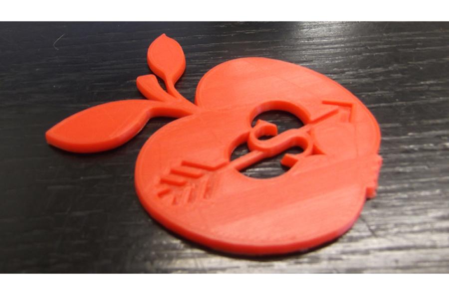 3d print of apple