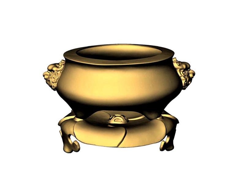 Bronze Incense Burner 3