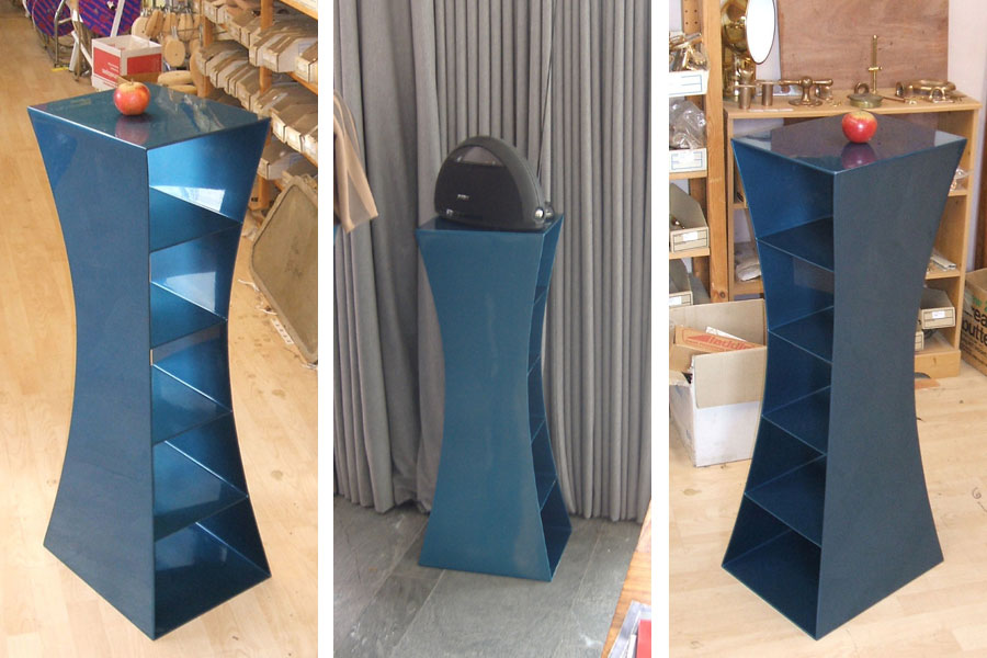 Painted Steel Pedestal
