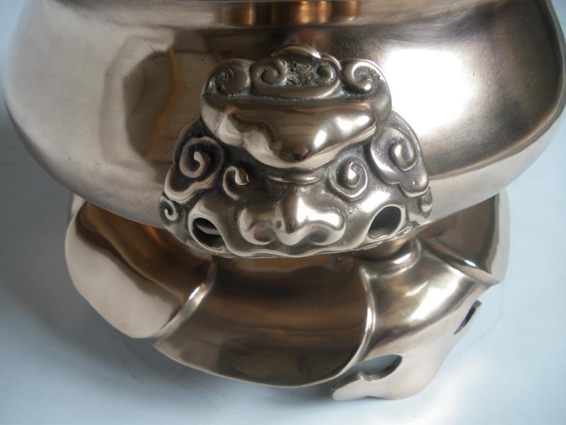 Bronze Incense Burner 9