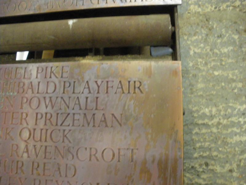 Engraved Bronze